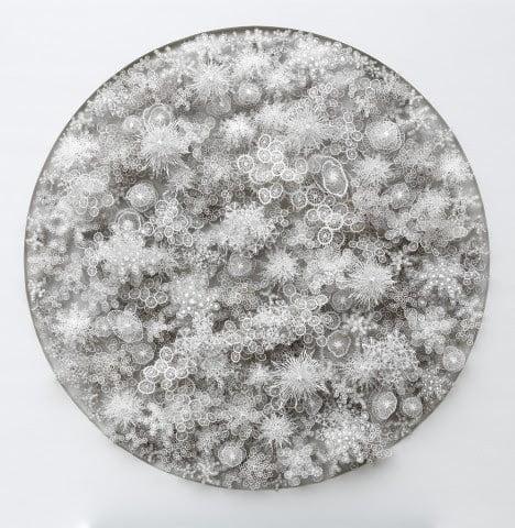 Laser Cut Paper Art Nature Inspired Magic Circle By Artist Rogan Brown (3)