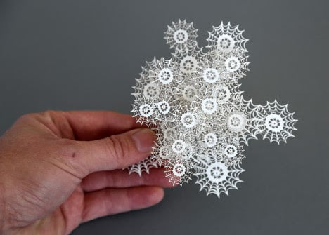Laser Cut Paper Art Nature Inspired Magic Circle By Artist Rogan Brown (7)