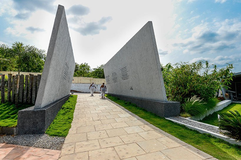 Mahaprasthanam A Hindu Crematorium & Cemetery by DA studios in India (5)