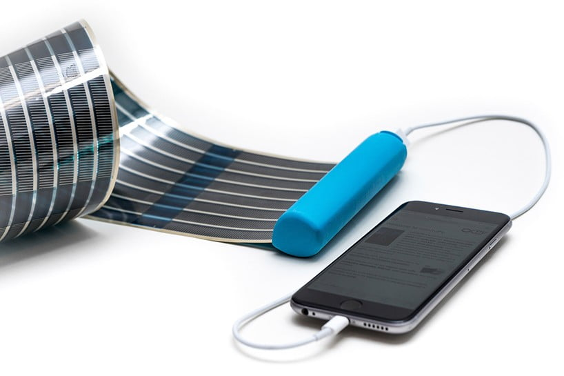 Portable Solar Panels HeLi-on By infinityPV - Mobile Battery Charger