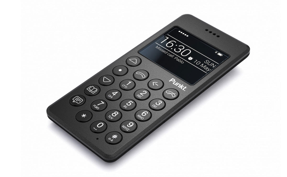 The Punkt MP 01 Mobile Phone is only for Calls and Texts (2)