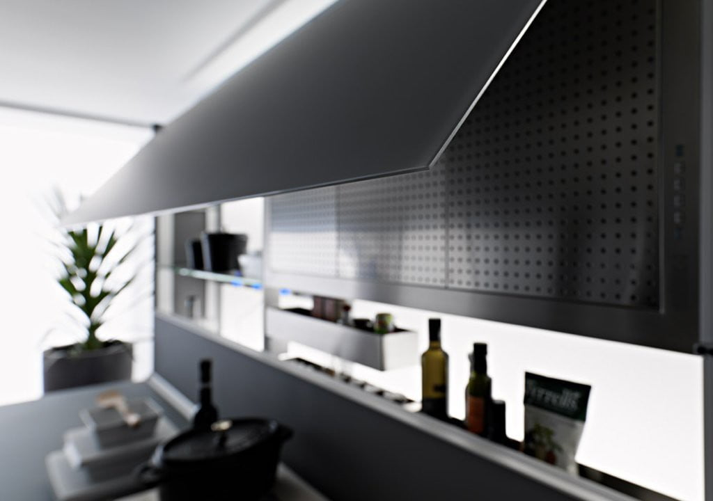 Valcucine - Kitchen Cabinets Design By New Logica System-verde_lucido- (3)