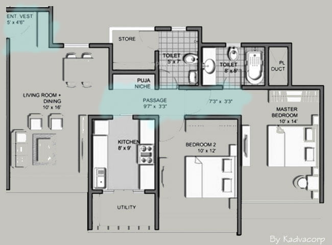 2-bedroom-flats-with-kitchen-utility-03