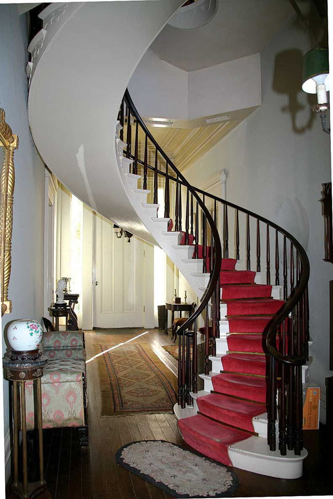 Freestanding Spiral Staircases Example.