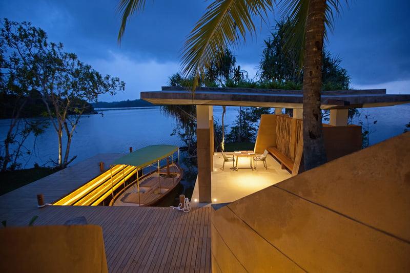 design of Island Resort on the Middle of Koggala Lake in Sri Lanka (2)