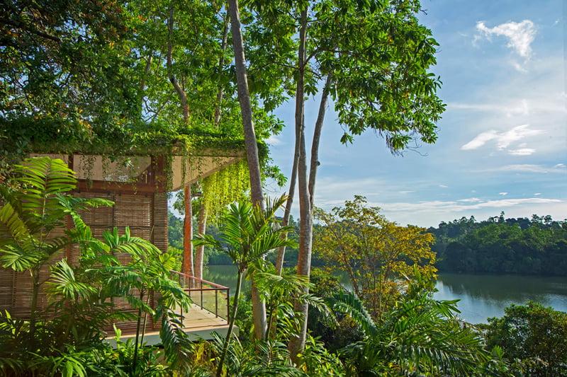 design of Island Resort on the Middle of Koggala Lake in Sri Lanka (9)