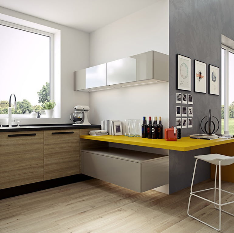 Modern Kitchen Ideas For Apartments.