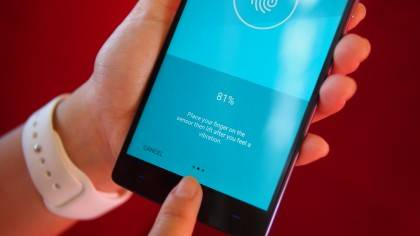 A faster fingerprint scanner