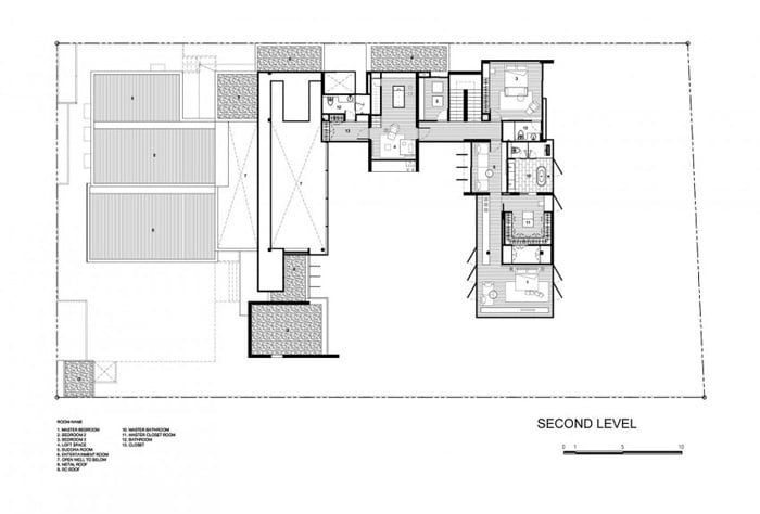 First floor lvl plan