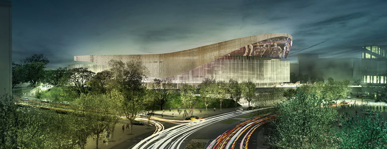 FC Barcelona Arena, new Palau Blaugrana Arena,
