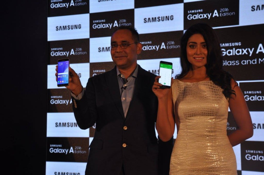 The New Flaunt Samsung Galaxy A 2016 Edition Launch in India (3)