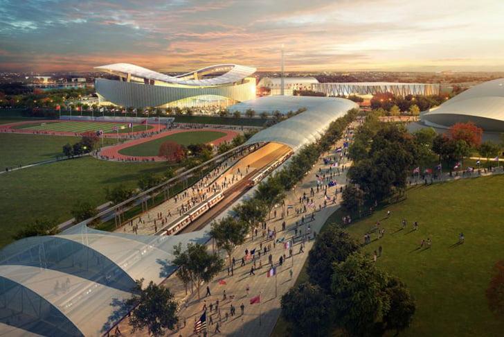 Washington DC Olympic 2024 Master Plan by Gensler 2