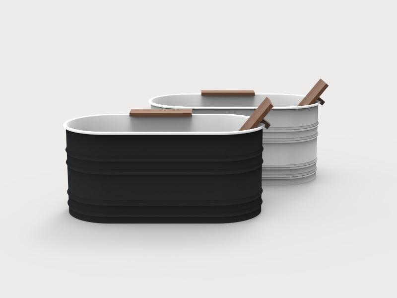 Vieques XS compact modern bathtub design