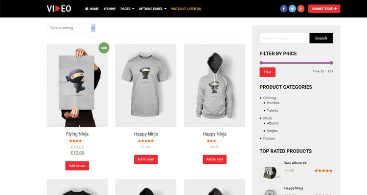 best-video-wordPress-theme-for-shopping-website