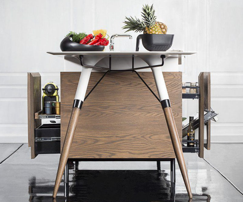 Kitch T Compact Kitchen by Irena Kilibarda-Dsignedby