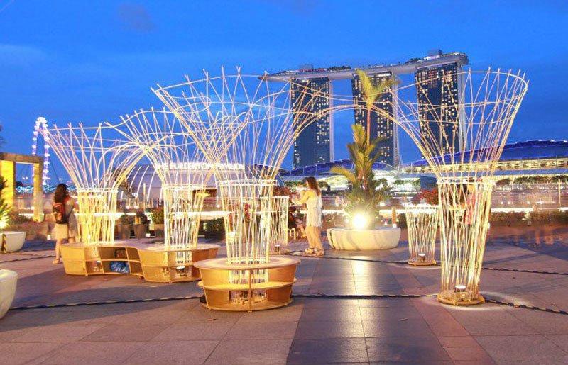 Lightscape Pavilion by Misosoupdesign