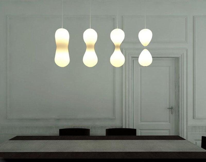 Mitosis Ceiling Lamp by Soroush Vahidian Kamyar, Saeed Rahnama