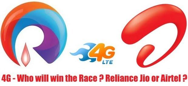 Reliance Jio 4G Vs,