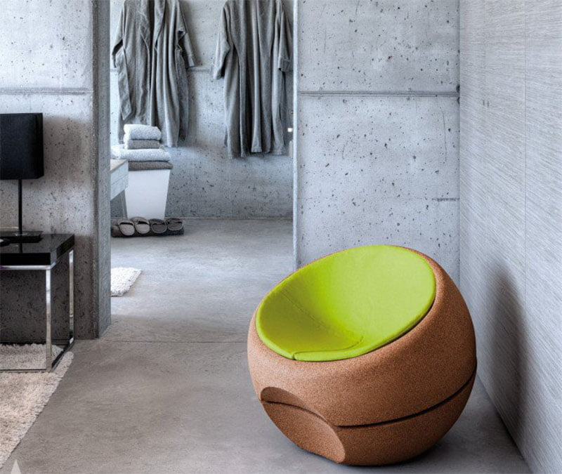 Spherical Armchair by Arch. Miguel Arruda