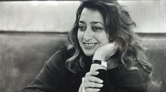 rare photos of zaha hadid,