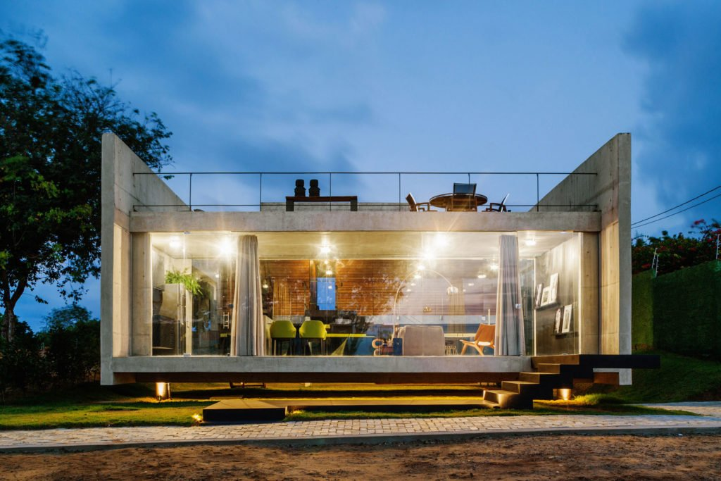 Elements of Design in Modern Concrete Home Architecture with Example