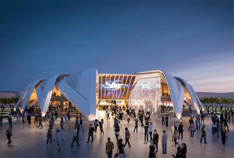 Falcon Pavilion Design by Santiago Calatrava for Dubai Expo 2020 kadvacorp (2)