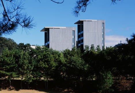 Luxury Hotel elevation Minimalist architecture Tadao Ando
