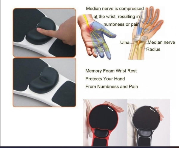 Mouse Pad Arm-Stand Desk (6)