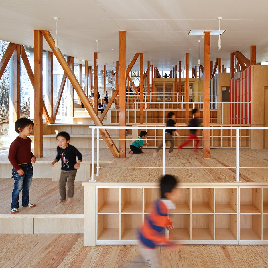 Nursery Interior By Yamazaki Kentaro Design Workshop