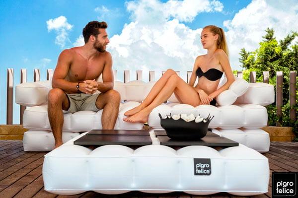 Pigro-Felice-Modul-Air-float-inflatable garden furniture
