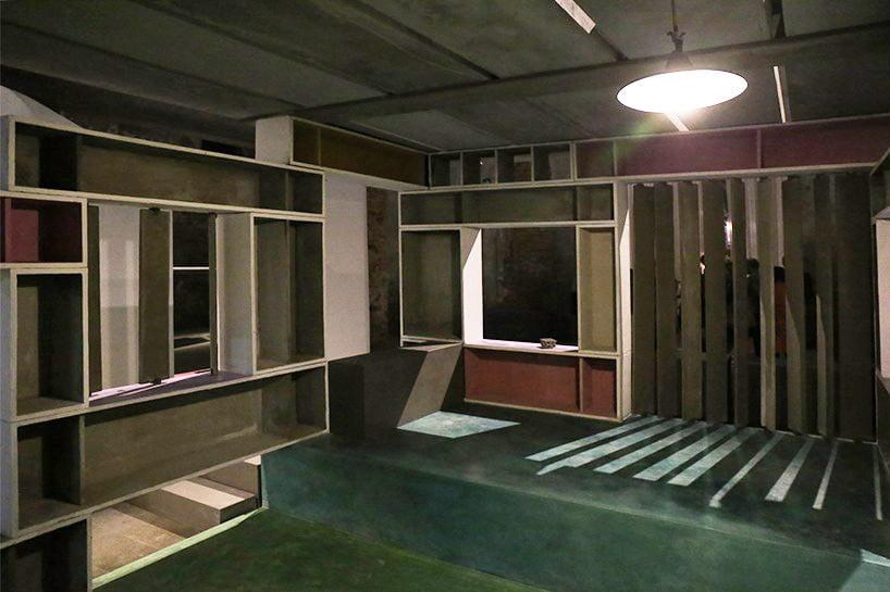 internal view of lowcost modular homes by anupama kundoo