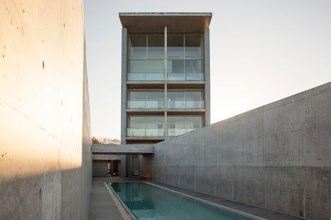 minimalist hotel elevation