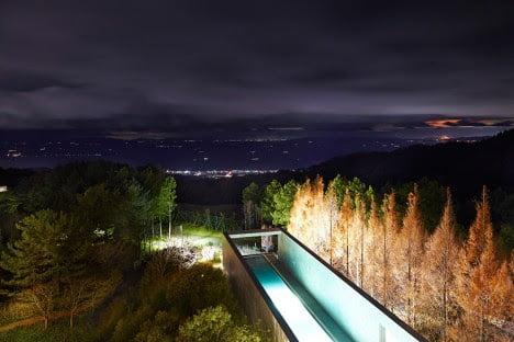 minimalist hotel swimmingpool