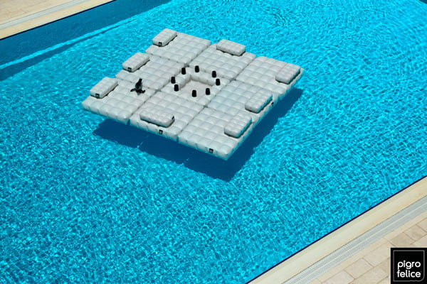 pool floats by Pigro-Felice