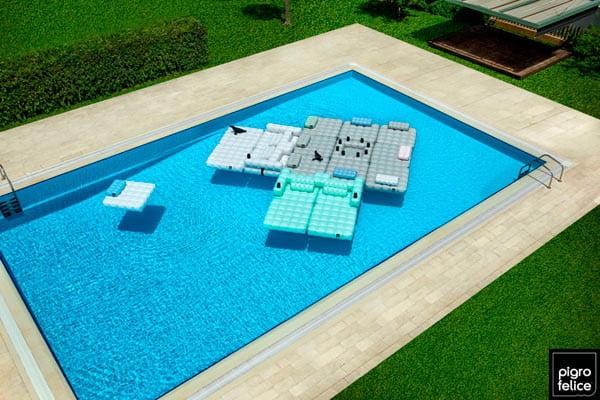 pool floats furniture