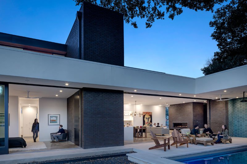 straight line elevation in latest house architecture