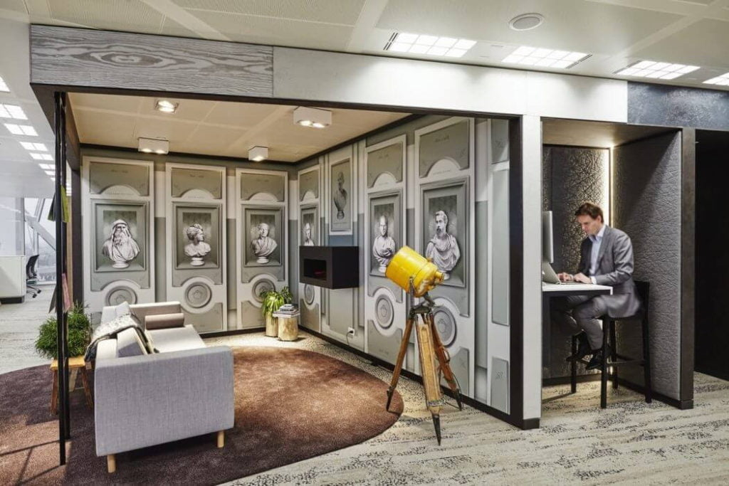 Example Of Flexible Office Interior Design Trend