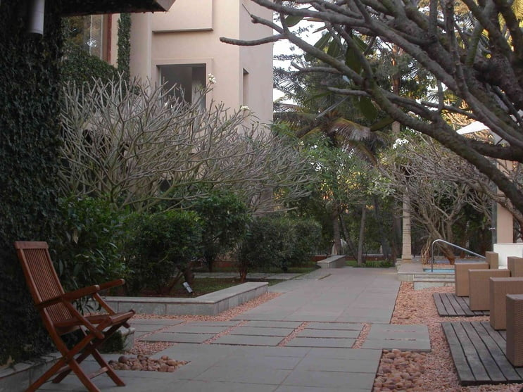 Mindfulness Meditation Yoga Retreat Center Landscape Design Example (3)