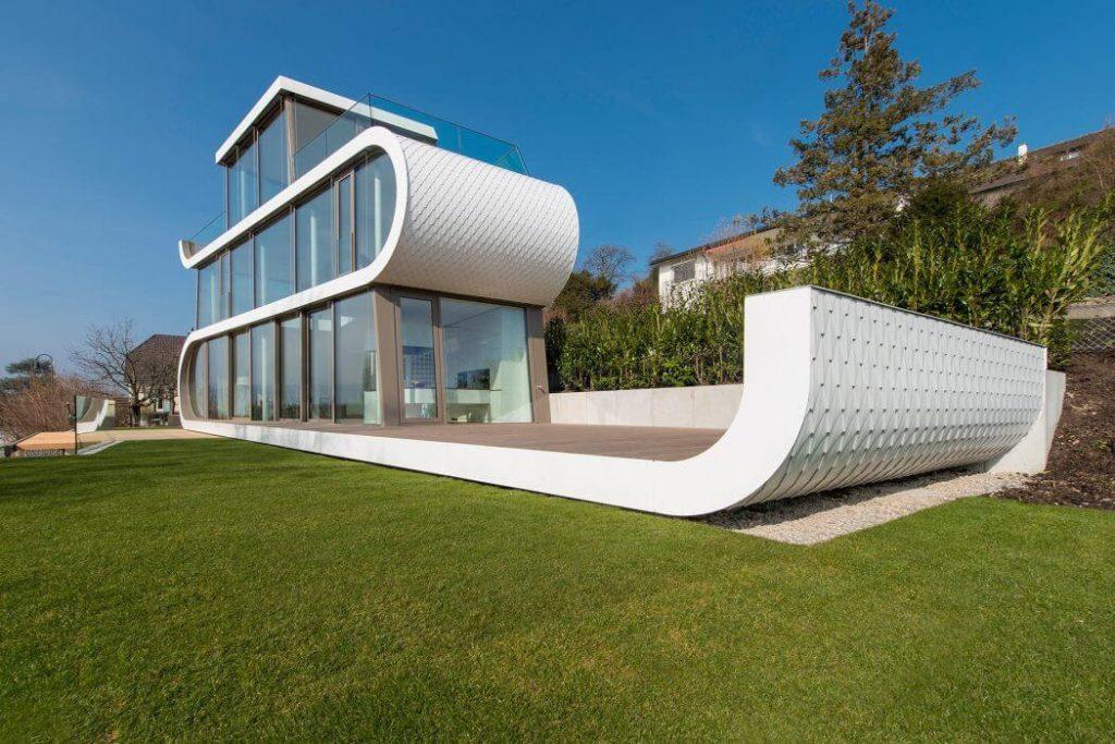 Modern residence in Meilen Switzerland