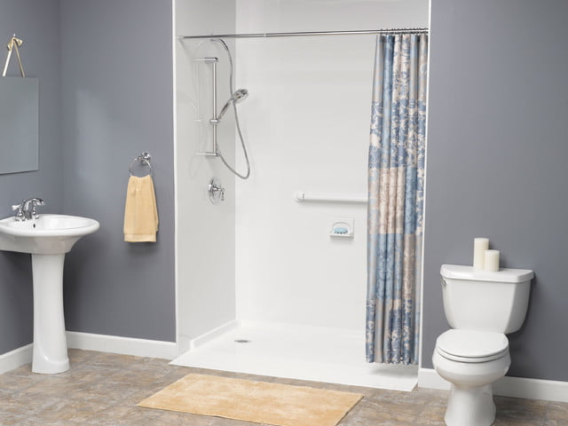 Shower Enclouser for Handicapped Accessible in Modern Bathroom
