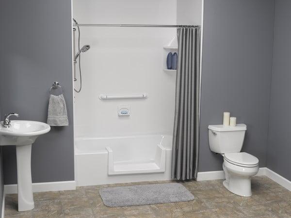 Step-through Bathtub Insert shower cubical