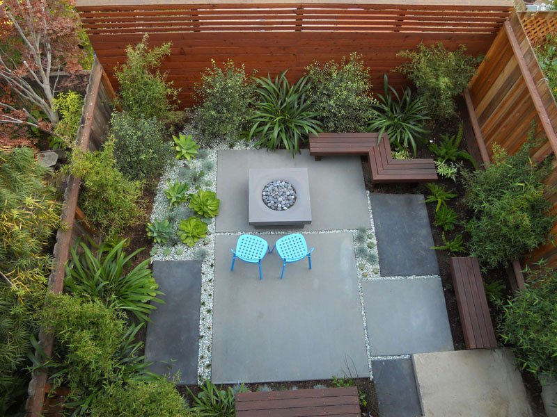backyard design ideas contemporary patio