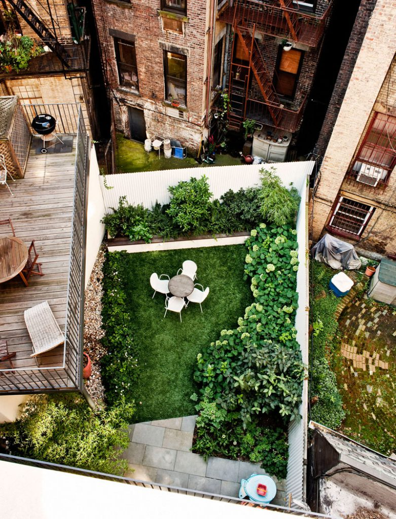 maximize green space in backyard landscaping ideas
