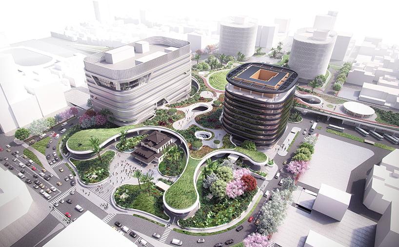 sustainable development of mecanoo-kaohsiung-station-taiwan-railway-project
