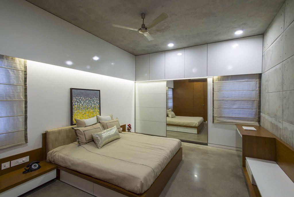 Badri Residence A Modern Indian House Architecture Paradigm (18)