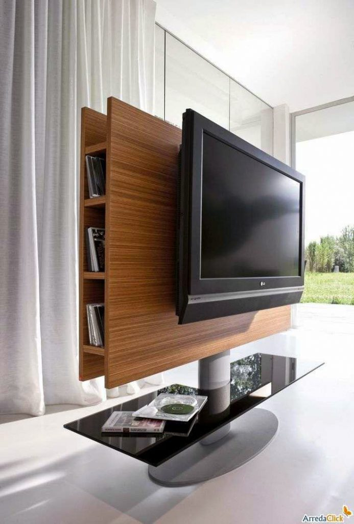 Bedroom TV Stand Unit with Mount Modern Design Ideas