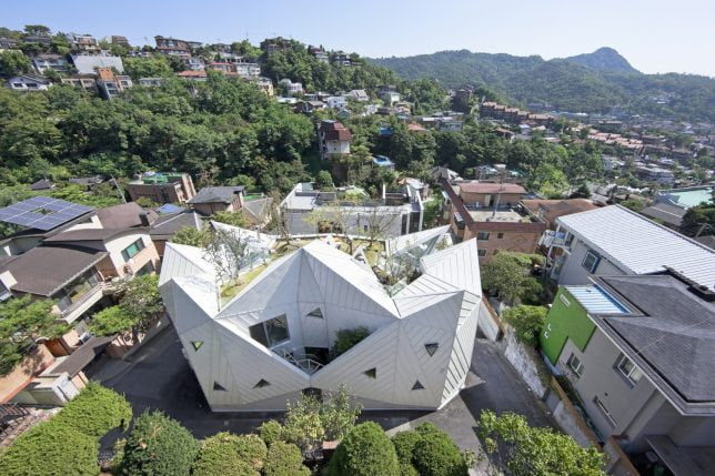 Blooming Origami House by IROJE KHM