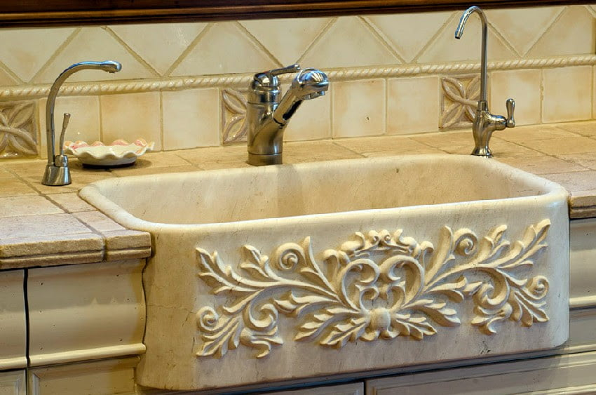 Tuscan style Bathroom furniture