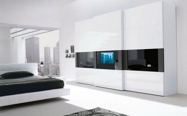 modern tv stands in bedroom wordrobe unit