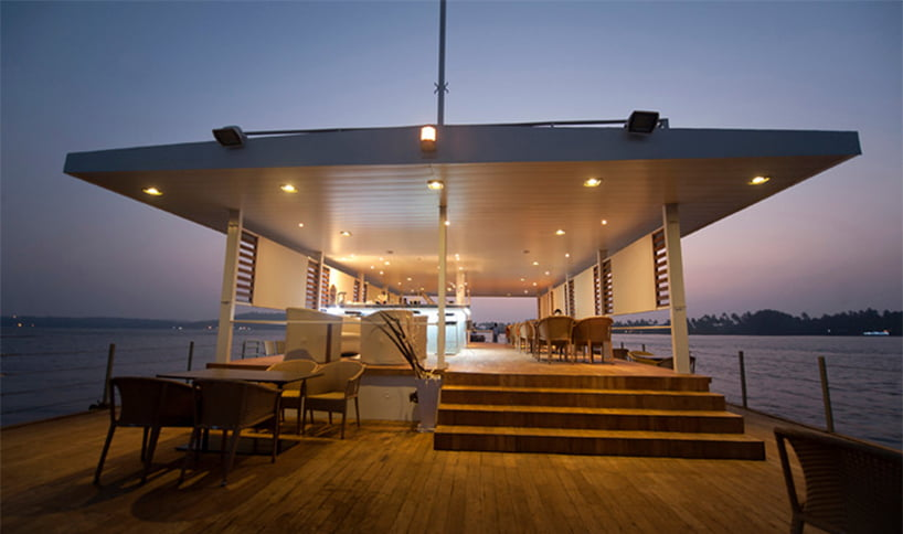 restaurants on the water by smd architects in goa